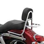 Sissy Bar + luggage rack Fehling Harley Davidson Dyna Switchback (FLD) 12-16
