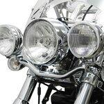 Lampenhalter für Zusatzscheinwerfer Fehling Triumph Thunderbird 09-15 schwarz