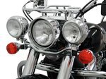 Light bar Fehling Honda Shadow 750 Black Spirit 10-16