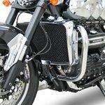 Sturz-Bügel Fehling Triumph Rocket III Roadster 10-16 silber