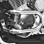 Sturz-Bügel Fehling Yamaha XJ 900 S Diversion 95-03 silber