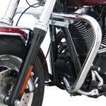 Sturz-Bügel Fehling Harley Davidson Dyna Fat Bob (FXDF) 08-16 silber