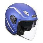 Jet-Helm GIVI 20.6 FIBER blau metallic matt - M