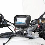 Motorrad Navi Gerätehalter Set 1 für TomTom Rider Yamaha MT-10 2016 Pic:2