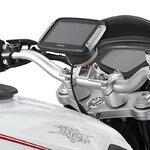 Motorrad Navi Gerätehalter Set 1 für TomTom Rider Yamaha MT-10 2016 Pic:4