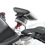 Motorrad Navi Gerätehalter Set 1 für TomTom Rider Yamaha MT-10 2016 Pic:6