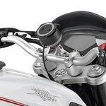 Motorrad Navi Gerätehalter Set 1 für TomTom Rider Yamaha MT-10 2016 Pic:3