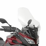 Motorrad Windschutzscheibe Yamaha MT-09 Tracer 15-17 Givi Spoiler transparent + Montagesatz