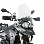 Motorrad Windschutzscheibe BMW F 800 GS 08-16 Givi Spoiler transparent + Montagesatz