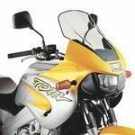Motorrad Windschutzscheibe Yamaha TDM 850 96-01 Givi Spoiler getönt
