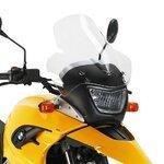 Motorrad Windschutzscheibe BMW F 650 GS 04-07 Givi Spoiler transparent