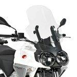 Motorrad Windschutzscheibe Moto Guzzi Stelvio 08-10 Givi Spoiler transparent