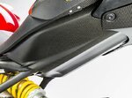 Rahmenabdeckung unten Ducati Monster 1200/S 14-16 Carbon matt Ilmberger Pic:1