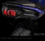 LED-Rücklicht + Blinker Honda CB 1000 R/ CBR 600 F/ Hornet 600 08-16 rauchgrau Pic:4