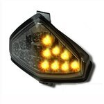 LED-Rücklicht + Blinker Honda CB 1000 R/ CBR 600 F/ Hornet 600 08-16 rauchgrau