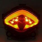 LED-Rücklicht + Blinker Honda CB 500 F/ X 13-14 rauchgrau Pic:2