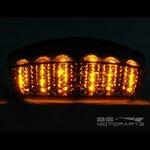 LED-Rücklicht + Blinker Ducati Monster 1000 03-05 rauchgrau Pic:2