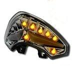 Fanale posteriore a LED + frecce Ducati Multistrada 1200 10-14 fume