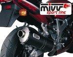 Auspuff Mivv Oval Honda CBR 900 RR Fireblade 00-01 Carbon