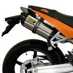 Auspuff Mivv Suono 2 KTM 990 Super Duke/R 05-12 Edelstahl/ Carbon
