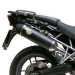 Exhaust LeoVince One Evo2 Triumph Tiger 800/XC 11-12  carbon