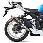 Auspuff Mivv GP Suzuki GSX-R 600 11-16 Carbon