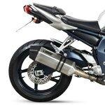 Auspuff Mivv Speed Edge Yamaha FZ1/ Fazer 06-14 Edelstahl/Carbon