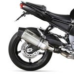 Auspuff Mivv Speed Edge Yamaha Fazer 8 (FZ8 Fazer) / FZ8 10-16 Edelstahl/Carbon