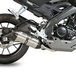 Auspuff MIVV Suono Yamaha MT-125 14-17 Edelstahl/ Carbon