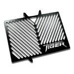 Kühlerabdeckung Triumph Tiger 800/ XC/XR 11-18 Logo schwarz