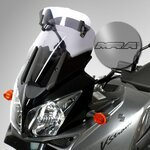 Vario Touring Screen MRA Suzuki DL 650/ 1000 V-Strom 04-11/ Kawasaki KLV 1000 light smoke