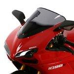 Racingscheibe MRA Ducati 848 Evo 11-13 rauchgrau