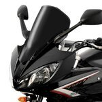 double bubble screen MRA Yamaha FZ6 Fazer S2 07-10 black