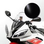 Racingscheibe MRA Yamaha YZF-R6 08-16 schwarz