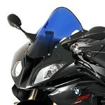 Double bubble screen MRA BMW S 1000 RR 09-13 blue
