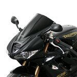 Racingscheibe MRA Triumph Daytona 675 09-12 schwarz