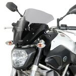 Racingscheibe MRA Yamaha MT-07 13-17 rauchgrau