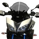 Racingscheibe MRA Yamaha MT-09 Tracer 15-17 rauchgrau