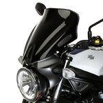 Spoilerscheibe MRA Suzuki SV 650 16-17 schwarz