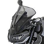 Racingscheibe MRA Yamaha MT-09 2017 rauchgrau