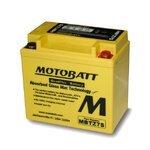 Motorradbatterie AGM Motobatt MBTZ7S