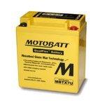 Motorradbatterie AGM Motobatt MBTX7U