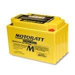 Motorradbatterie AGM Motobatt MBTX9U