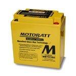 Motorradbatterie AGM Motobatt MBTX16U