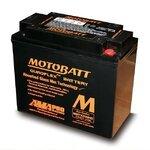 Motorradbatterie AGM Motobatt MBTX20UHD