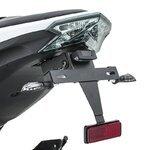 Motorrad LED Blinker KITE Paar schwarz Pic:5