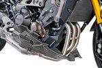 Bugspoiler Puig Yamaha MT-09 13-16 carbon look für Akrapovic Auspuff
