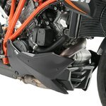 Bugspoiler Puig KTM 1290 Super Duke/R 14-17 schwarz matt Pic:1