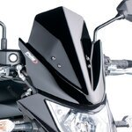 Windschild Puig Kawasaki ER-6n 12-16 schwarz