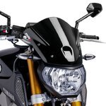 Windschild Puig Sport Yamaha MT-09 13-16 schwarz